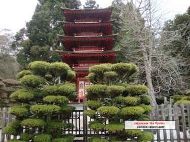 Japanease Tea Garden - um lugar para relaxar e admirar a paisagem