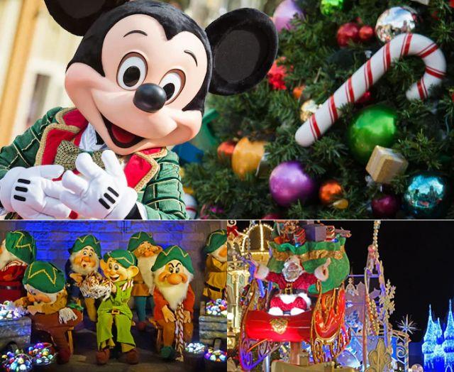 A festa de Natal mais Mágica de Orlando