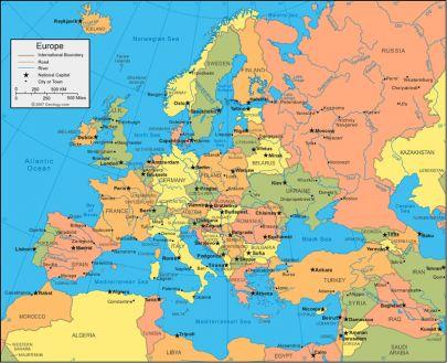 Rssia pases da europa e capitais mapa europeu cidade do vaticano cidade do vaticano sciox Image collections