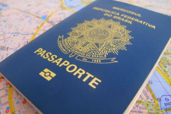 Modelo anterior do Passaporte
